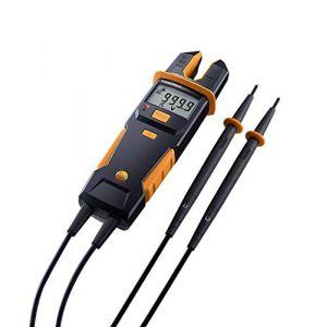 Testo Multimètre, Pince ampèremétrique 0590 7552 numérique CAT IV 600 V, CAT III 1000 V Affichage (nombre de points): 4000 1 pc(s)