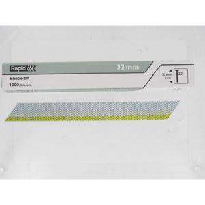 Rapid 40104405 - Pointes n°32 galva 32 mm boîte de 1000