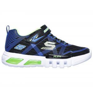 Skechers Chaussures enfant Flex Glow vert - Taille 23,24,25,26,27,30,31,32