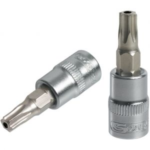 KS Tools Douille tournevis ULTIMATE TORX percé 3/8, L.50 mm - T10 922.3940