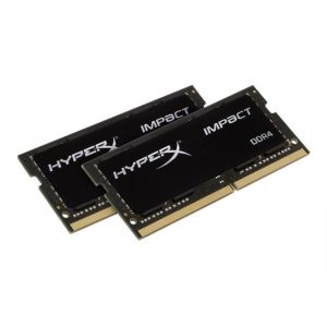 Kingston HyperX Impact DDR4 32 Go: 2 x 16 Go SO DIMM 260 broches - HX432S20IBK2/32