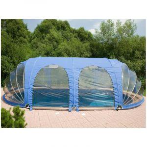 Poolmarina Abri Mobile de Piscine Azuro FitMarina Ovale 4.1 x 6.2 x 2.2 m