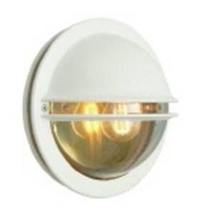 Norlys Applique extérieure design Berlin Blanc fonte d'aluminium 610VI