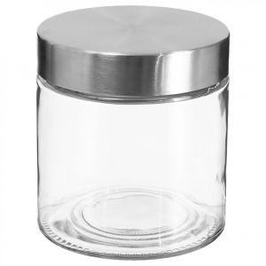 Secret de Gourmet Lot de 3 Bocaux verre avec bouchon inox 750 ml