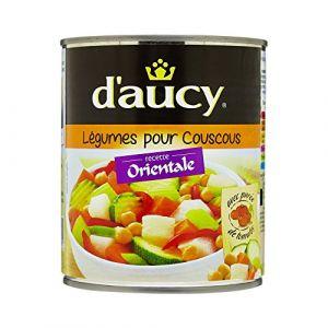 d'aucy Légumes pour couscous - La boîte de 800g
