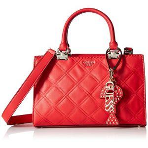 Guess Status, Sacs portés épaule femme, Rouge (Lipstick/Lip), 29x20x13 cm (W x H L)
