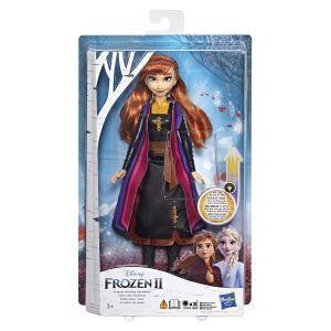 Hasbro La Reine des Neiges 2 - Poupee mannequin Princesse Disney Anna Robe Lumineuse - 26 cm