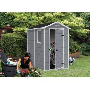Chalet et Jardin Premium 46S - Abri de jardin en résine 2,5 m2