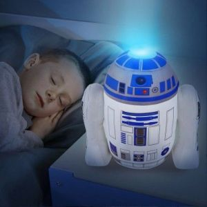 Room Studio Veilleuse peluche 2 en 1 Go glow Pal R2D2 Star Wars