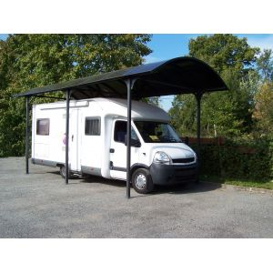 Foresta Carport gros véhicules 27.35 m²