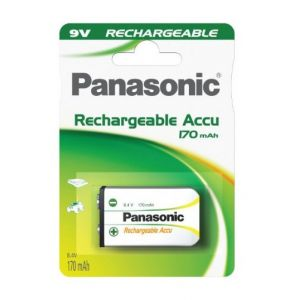 Panasonic Batterie rechargeable 9V 170 mAh
