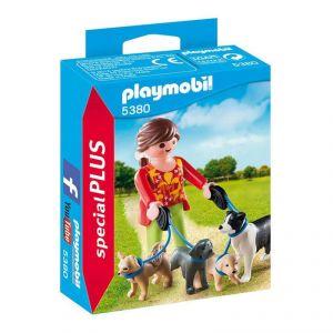 Playmobil 5380 - Special Plus : Éleveuse de chiens