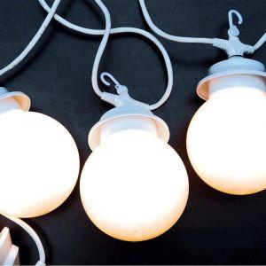 Lumisky Guirlande lumineuse blanche 4 globes