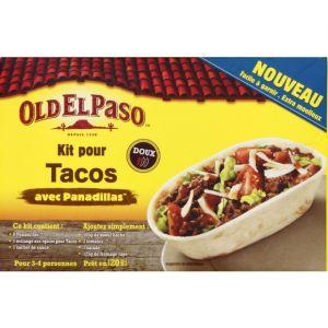 Old el paso Kit de tacos panadillas - La boîte de 350g