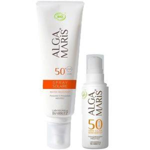 Laboratoires de Biarritz Crème visage 50 et Spray SPF50+