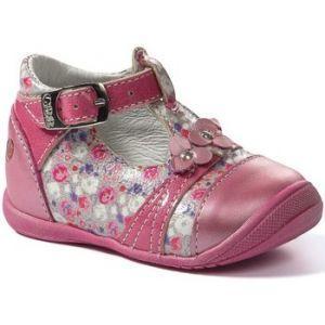GBB Pilar, Bottillons bébé fille, Rose (VNV Fushia-Imprime DPF/Kezia), 23 EU