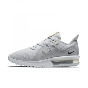 Nike Chaussure Air Max Sequent 3 pour Femme - Argent - Taille 38.5 - Female