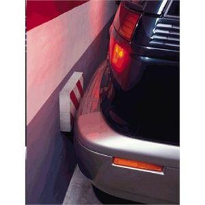 Norauto 1 mousse de protection droite rouge et blanche pour voiture 33 cm