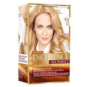 L'Oréal 8.31 Blond clair beige, Coloration crème nuancée