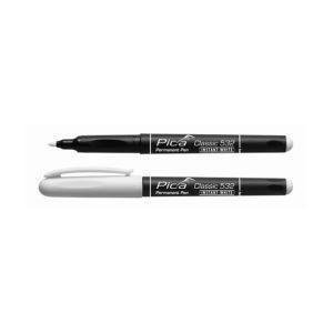 Pica Classic Feutre indélébile Instant-White 1- 2 mm Rond