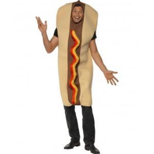Déguisement hot dog homme (taille M)
