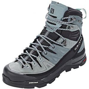 Image de Salomon X Alp High LTR GTX - Chaussures Femme - gris/bleu UK 4,5 / EU 37 1/3 Chaussures trekking & randonnée