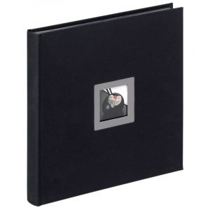 Walther FA-217-B Album photo en lin Black & White Noir 30 x 30 cm