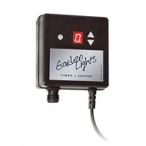 Perel Garden Lights GL6009011 Capteur photocell avec minuteur 12 V max. 150 W 1 W