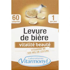 Laboratoires Vitarmonyl Levure de bière - 60 comprimés