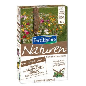 Fertiligene Fleurs pour limiter les mauvaises herbes Naturen 60 g