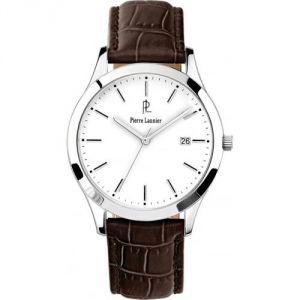Pierre Lannier 230C - Montre pour homme avec bracelet en cuir