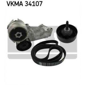 SKF Kit de courroies d'accessoires VKMA34107