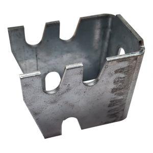 Batifix (Sadac) Console radiateur acier plissé à visser