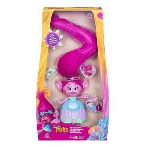 Hasbro Poppy cheveux mélodieux trolls
