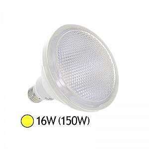 Vision-El Ampoule Led 16W (150W) E27 80° PAR38 Blanc chaud -