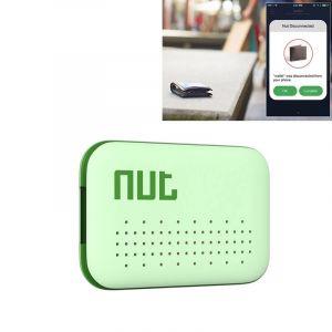 WeWoo Alarme Anti perte vert pour iPhone, Galaxy, Huawei, Xiaomi, LG, HTC et autres smartphone Écrou Mini Intelligent Bluetooth 4.0 Anti Suivi Tag Patch,