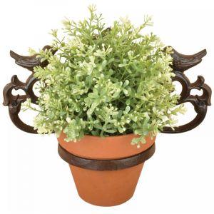 Esschert design Support de pot de fleurs Marron Fonte BR28