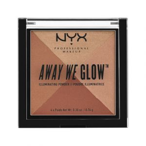 NYX Cosmetics Poudre illuminatrice Away We Glow