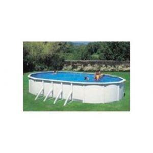 Mareva Couverture solaire pour piscine hors sol Dimensions 7.30 m x 3.70 m