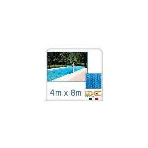 Linxor Bâche à bulles 300 microns pour piscine 4 x 8 m
