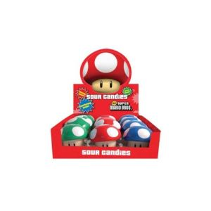 Bonbons Nintendo : Champignons Super Mario Bros