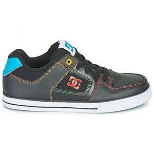 DC Shoes Chaussures de Skate enfant PURE ELASTIC Noir - Taille 36,37,38,39,33,35