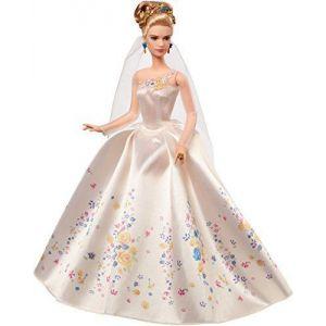 Mattel Poupée Cendrillon robe de mariée
