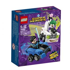 Lego 76093 - DC Comics Super Heroes Mighty Micros : Nightwing contre le Joker