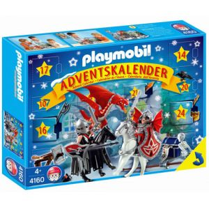 Playmobil 4160 - Calendrier de l'Avent Chevaliers des Dragons