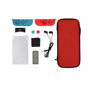 Konix Starter Kit Rouge et Bleu pour Nintendo Switch