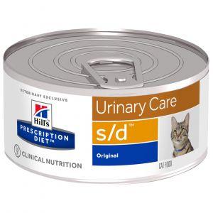 Hill's Feline s/d - 24 boîtes de 156 g