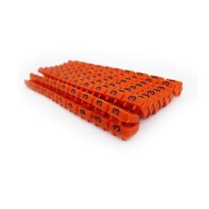 Dexlan 753473 - Bagues de marquage 3 diam 6 mm