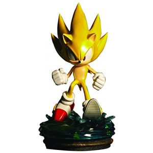 Figurine 'Sonic the Hedgehog' : Modern Super Sonic