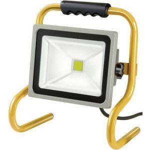 Brennenstuhl Projecteur LED CHIP portable 30W V2 IP65 5m H07RN-F 3G1,0 2100lm Catégorie rendement énergétique A
